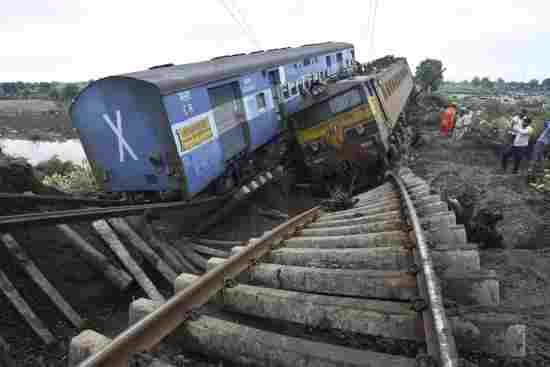 Derailments in India