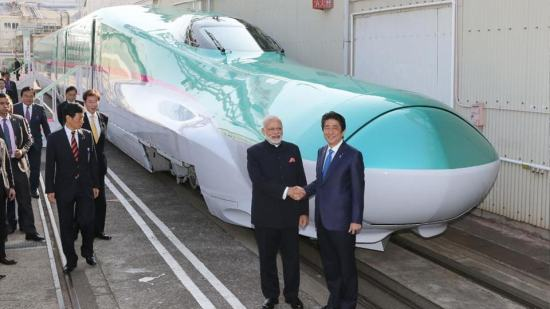 Bullet Train Project in India