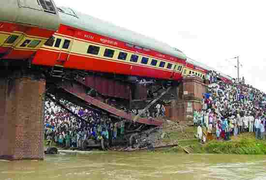Derailment of Rajdhani Express