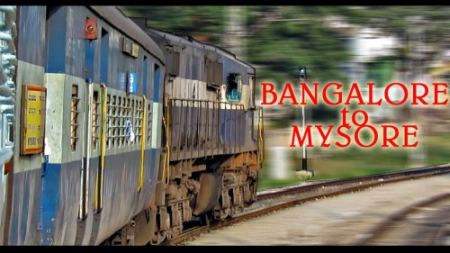 Trains from Bangalore to Mysore